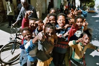 ERITREA: Gateliv i Asmara dokumentert under feltreise for Kirkens Nødhjelp.