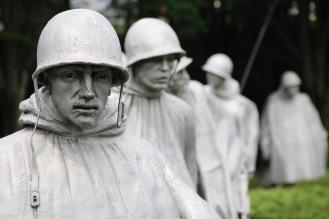USA: Vietnam Memorial i Washington D.C. 2016.