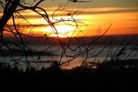 HJEMME BEST: Solnedgang fotografert fra Holmenkollen forrige vinter.