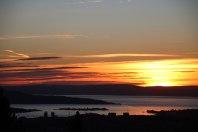 GREFSENKOLLEN: Blir aldri lei av å ta turen hit for å se soloppganger og solnedganger. Oslo sentrum blir litt penere å se på herfra.
